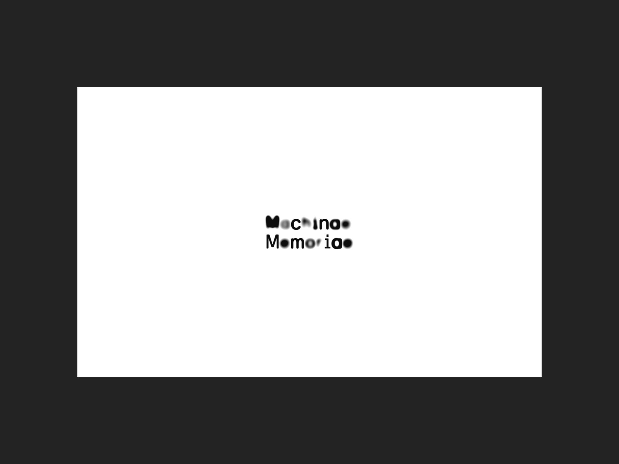 Machinae Memoriae